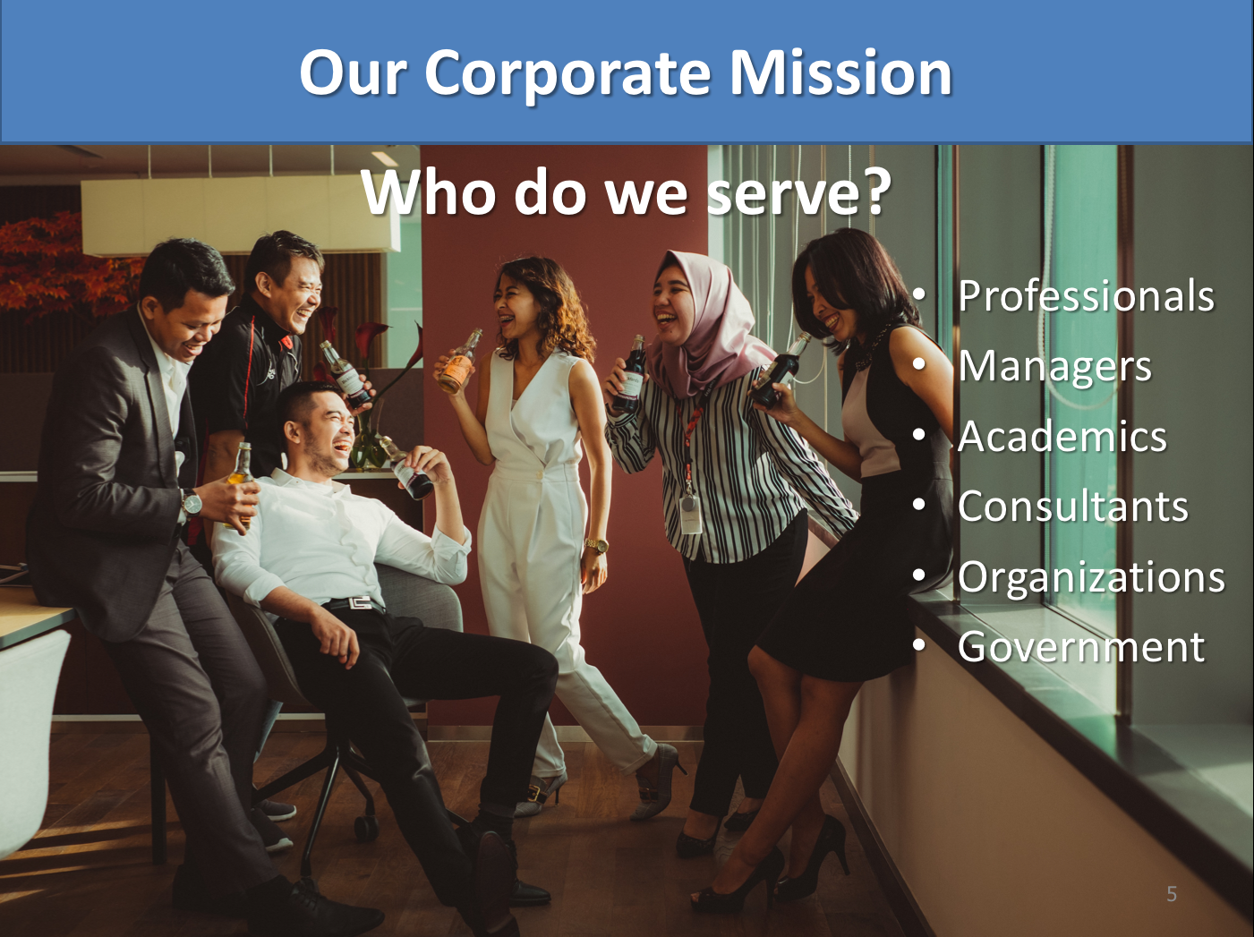 diverse corporate environment