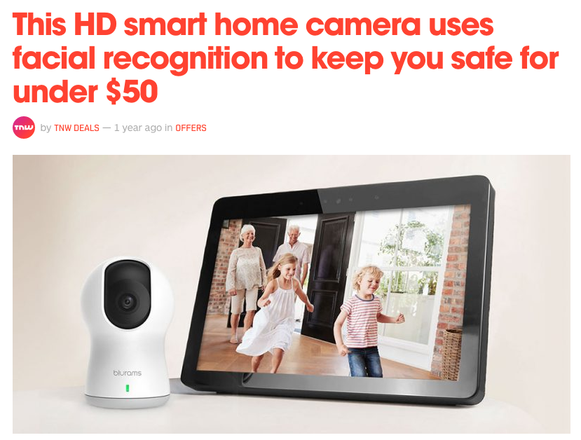 facial recognition for home