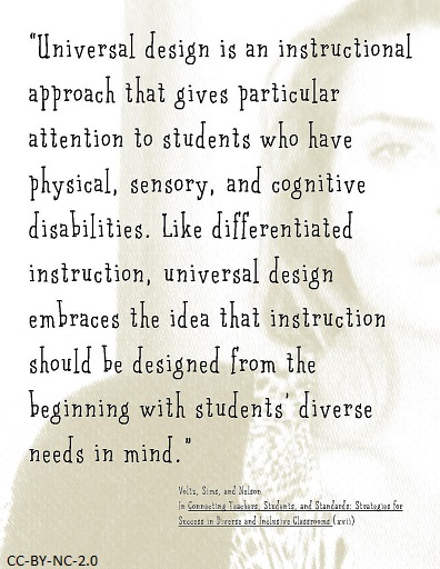 Ch 13 Universal Design For Learning Instructional Methods Strategies And Technologies To Meet The Needs Of All Learners